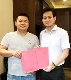 【联盟快报】淄博宫先生:朋友做托马斯的成功打动了我
